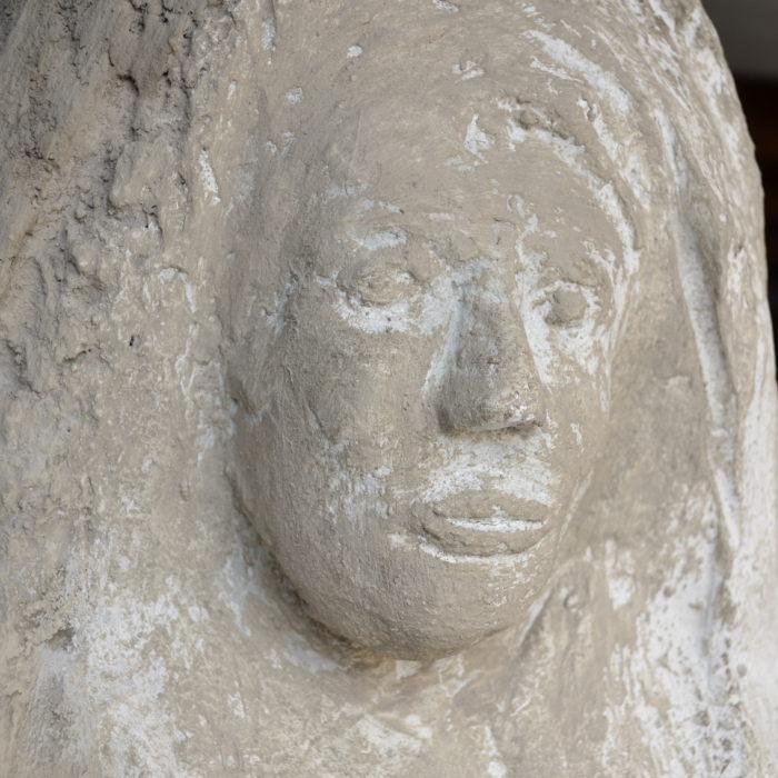 Madonna Sculpture
